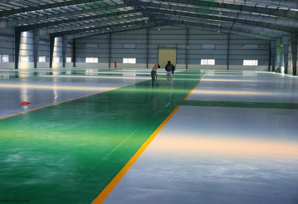 son epoxy 3 1024x702 - Công ty sơn sửa nhà xưởng – Thợ sơn nhà xưởng tại bình dương.