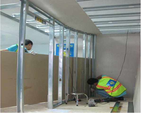 thi cong lam vach thach cao dep gia re 8 1 - Dịch vụ sửa chữa văn phòng quận Phú Nhuận
